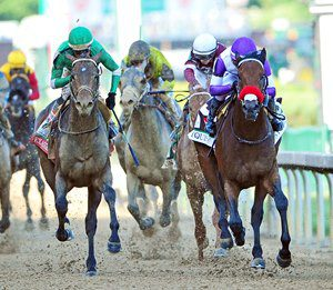Nyquist, who won the Kentucky Derby, drew post 3 in Saturday's Preakness