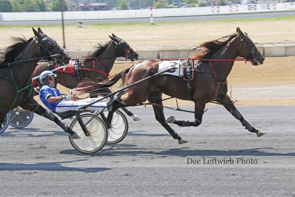 Tyler Shehan's first of four driving wins Saturday came aboard Somuchcooleronline. Photo by Dee Leftwich.