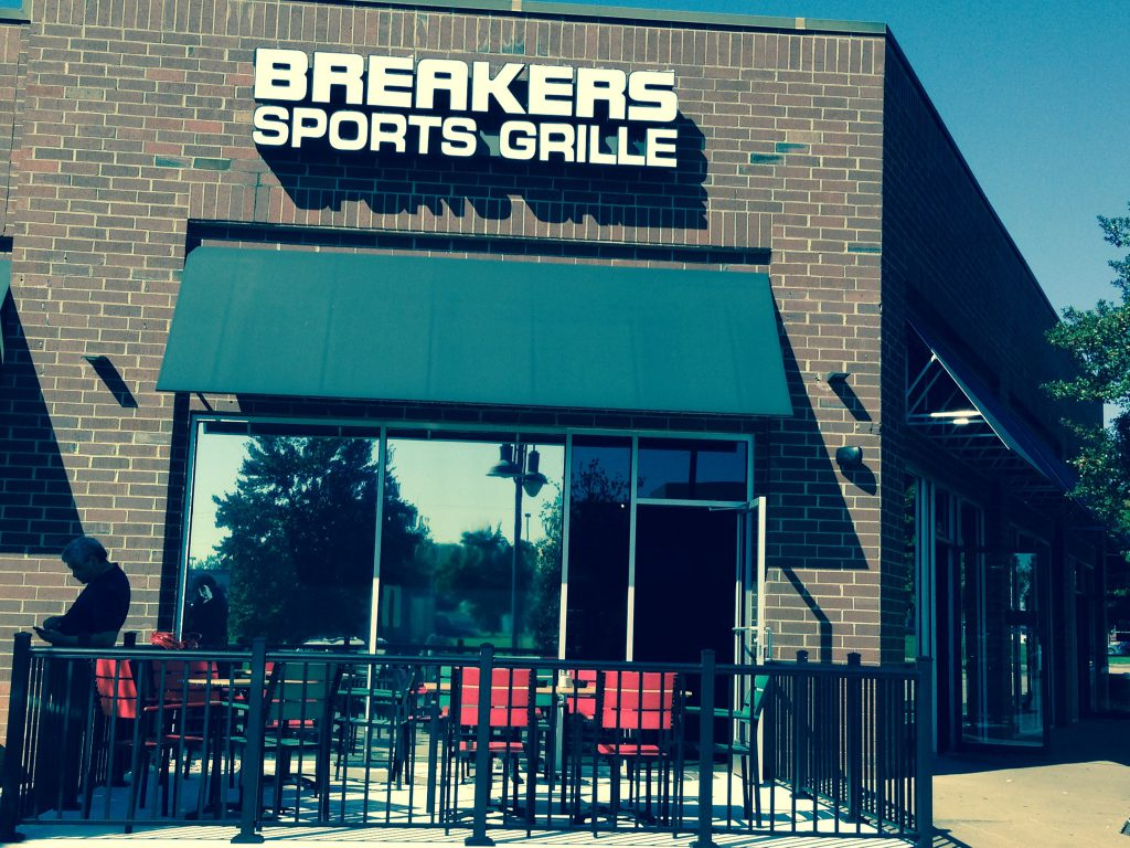 Breakers Sports Grille offers plenty of parking, daily food & beverage specials, and a combination of sports & horse racing on over 50 TVs.