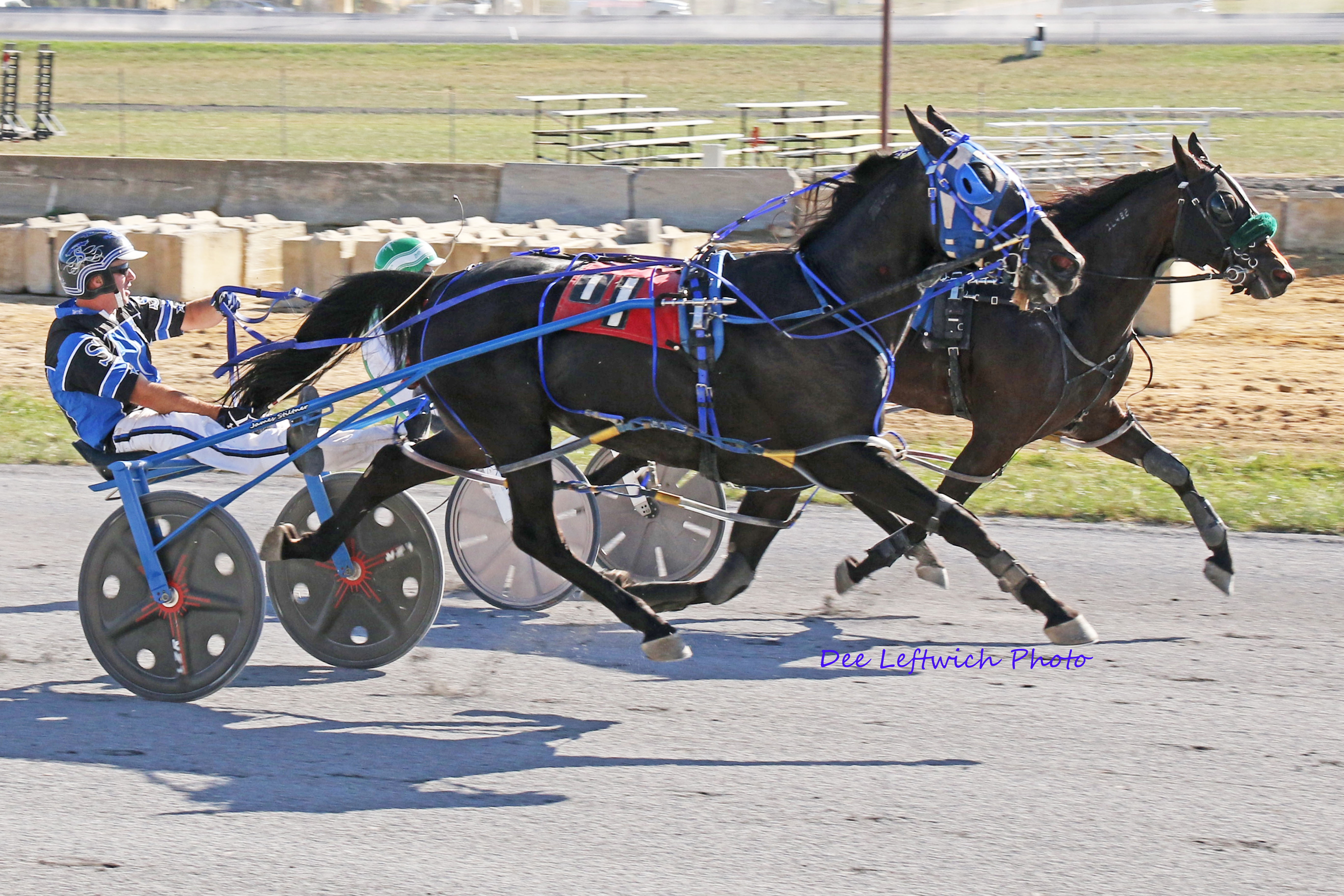 Scenes From Shenandoah Downs Harness Racing On September 23rd