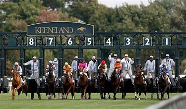 Keeneland Opens Their Spring Meet Friday Bluegrass Stakes